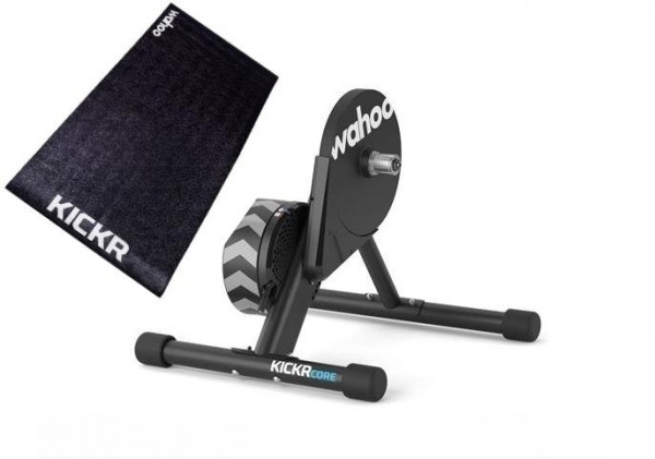Wahoo Kickr Core Smart Trainer Bundle with Kickr Floormate