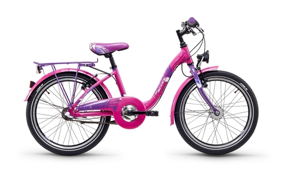 S´COOL chiX 20 steel 3-speed pink