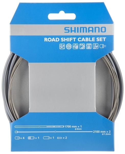 Shimano Rennrad Schaltzugset SIS-SP41 PTFE grau