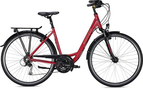 """Morrison Trekkingbike T 2.0 Women Wave 28"""" Glossy Red"""