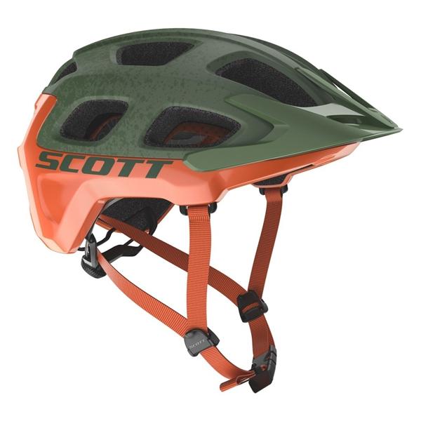 Scott Helmet Vivo Plus - metal green orange