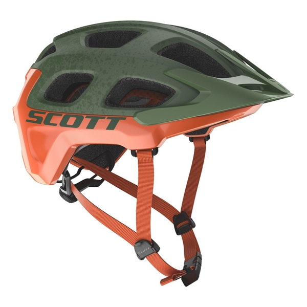 Scott Helm Vivo Plus - metal green orange