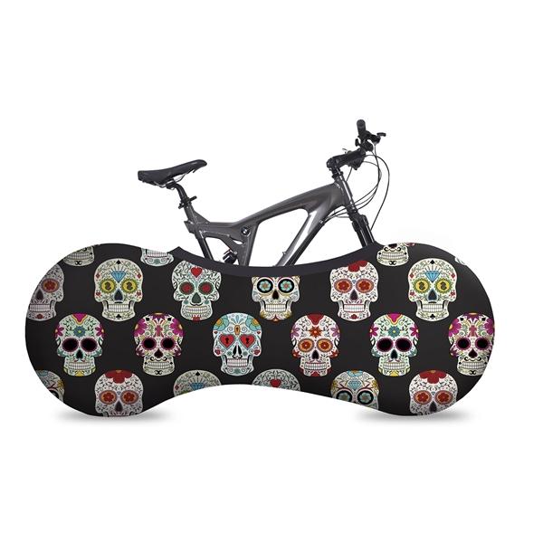 VELOSOCK Indoor Bicycle Garage Skulls