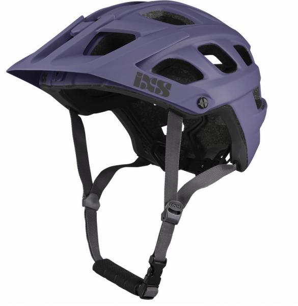 IXS Trail Evo helmet grape