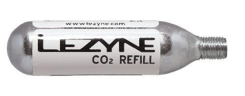 Lezyne 16G CO2 Kartusche mit Gewinde (5Stück)