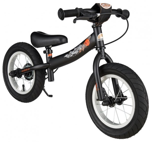 Bikestar safety children's wheel bike Sport 12'' devilish black matt