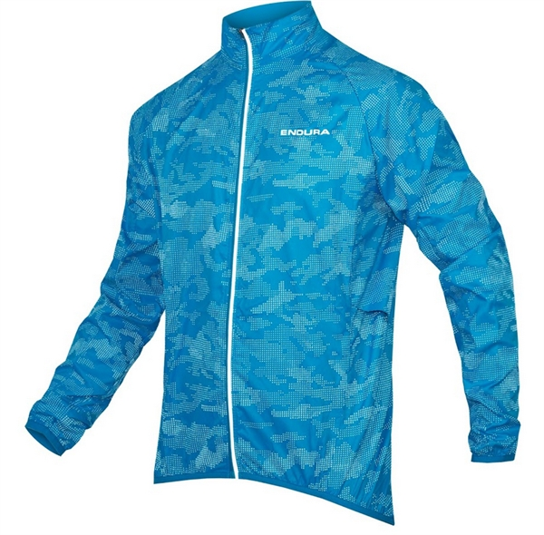 Endura Lumijak II Windproof Jacket neon-blue