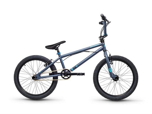 S´COOL XtriX 20 BMX 20'' Stahl 1-Gang grey/blue matt