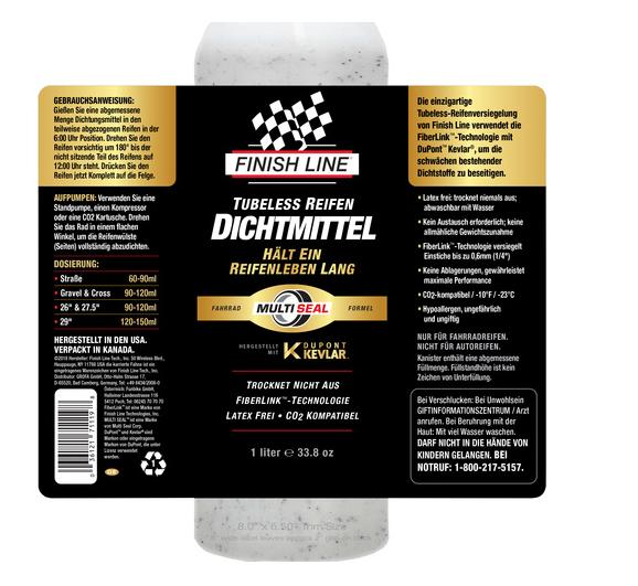 Finish Line Tubeless Dichtmittel 1000ml (34OZ)