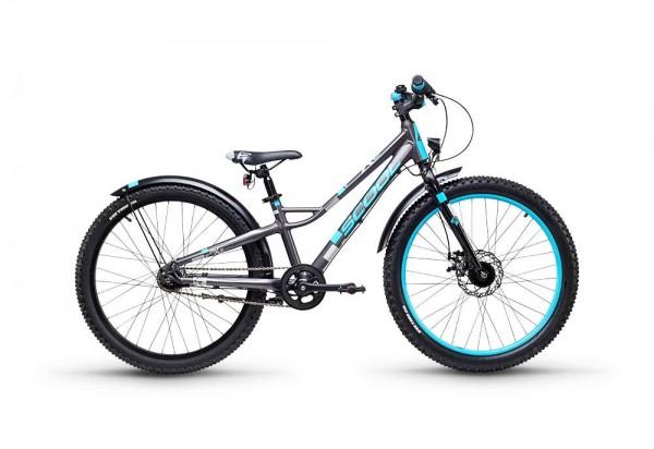 S´COOL faXe 24 Aluminium 7-Gang darkgrey/ blue matt