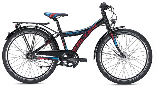 Falter FX 407 Pro 24 Zoll Y schwarz/rot Kinderrad