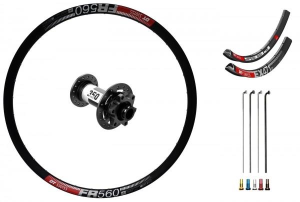 "DT Swiss 350 Disc IS Custom Front Wheel MTB 26"""
