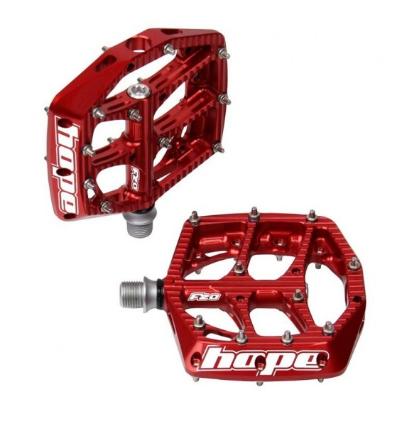 Hope F20 Pedal red