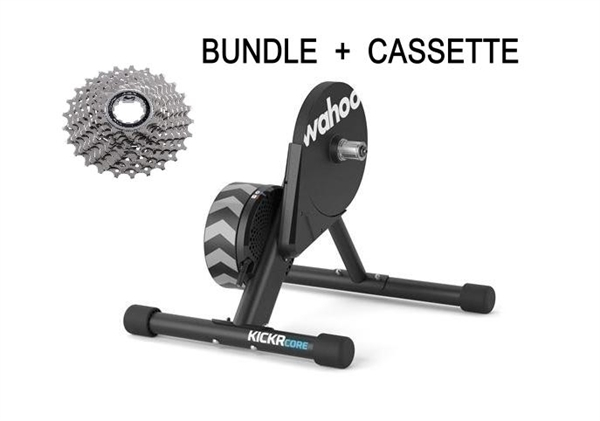 Wahoo Kickr Core Smart Trainer Set inkl. Kassette
