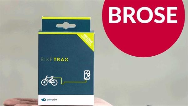 PowUnity Bike Trax - GPS Tracker für E-Bikes mit Brose-Antrieb