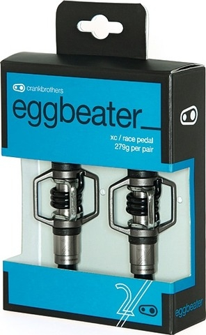 Crank Brothers Eggbeater 2 silver/black
