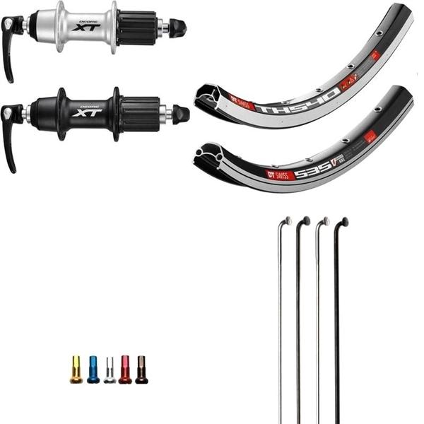 Shimano XT Custom Hinterrad für Trekking 28 Zoll