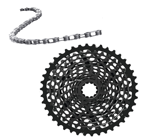 Sram chain and cassette kit - X01 11-speed
