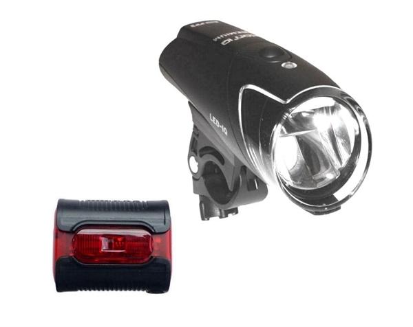 Busch & Müller IXON IQ Premium + IX-Back Senso Beleuchtungskomplett-Set