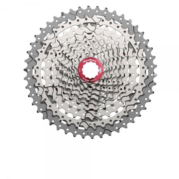 Sunrace Kassette CSMX3 10-fach 11-40 silber