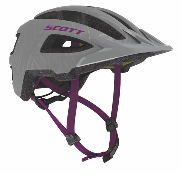 Scott Helmet Groove Plus grey/ultra violet