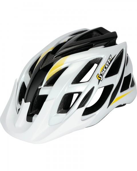 Scott helmet Spunto Junior white/yellow