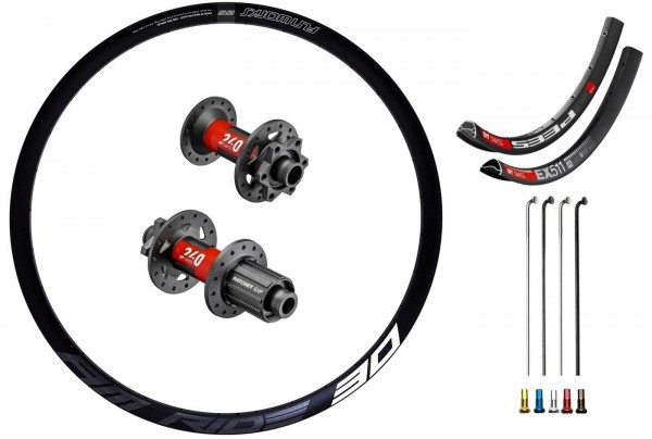 "DT Swiss 240 EXP Disc IS Custom Wheelset MTB 29"""
