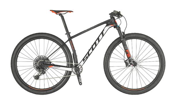 Scott Bike Scale 930 schwarz/weiß/rot 2019