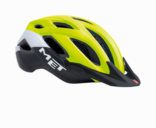 Met Crossover MTB Helm Safety Yellow
