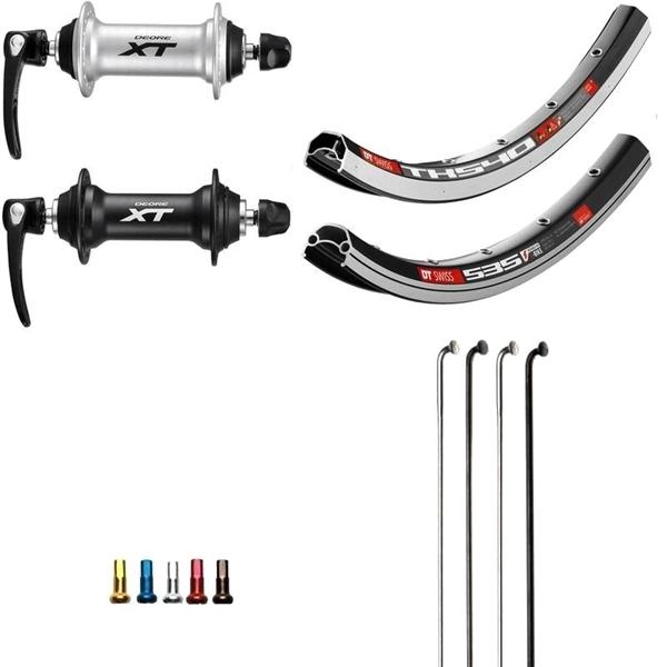 Shimano XT Custom Vorderrad für Trekking 28 Zoll