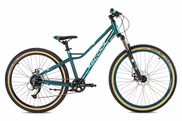 S´COOL faXe 26/27 race alloy 8-speed darkgreen/ aqua matt