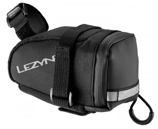 Lezyne Saddlebag Caddy (M) incl. CO2 Cartridge Twin Speed Drive 2x16g, black