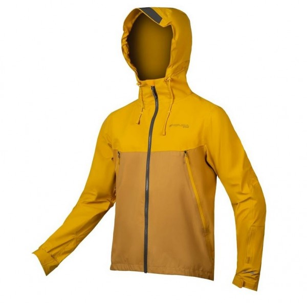 Endura MT500 Waterproof Jacket mustard