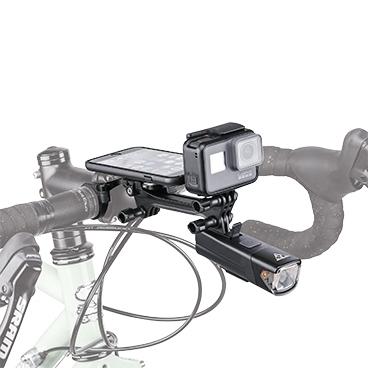 Topeak Ridecase Multimount Adapter für Kamera, Beleuchtung, Akku und Kamera