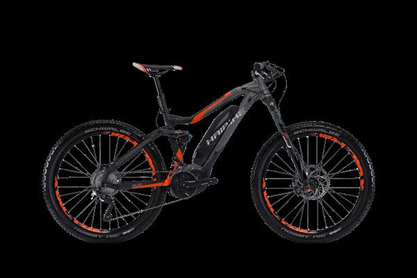 Haibike SDURO AllMtn 8.0 500Wh titan/ anthr./ orange matt
