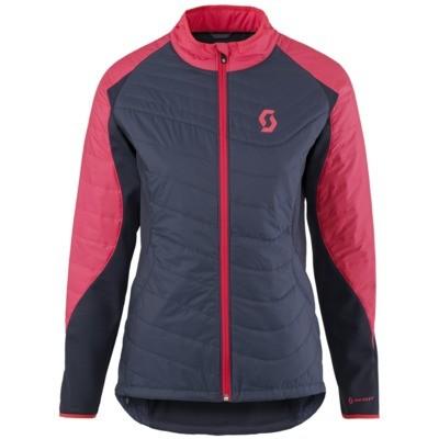 SCOTT Jacket W`s Trail AS blue nights/teaberry pink