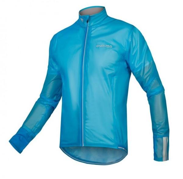 Endura FS260 Pro Adrenaline Race Cape II Jacke neon-blau