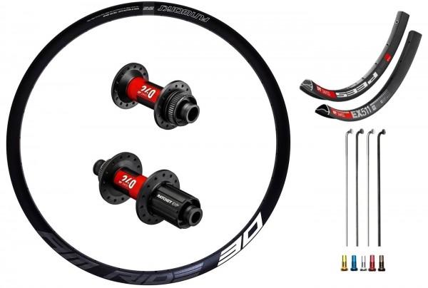 "DT Swiss 240 EXP Boost Disc CL Custom Laufradsatz MTB 29"""