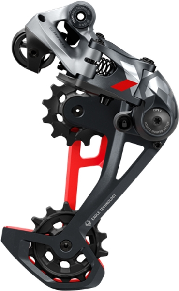 Sram X01 Eagle™ XX1 Eagle™ Rear Derailleur - Type 3 - 1x12-fach - black/red