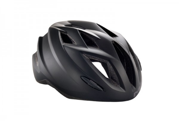 Met Gamer Helmet Matt Black - Unisize