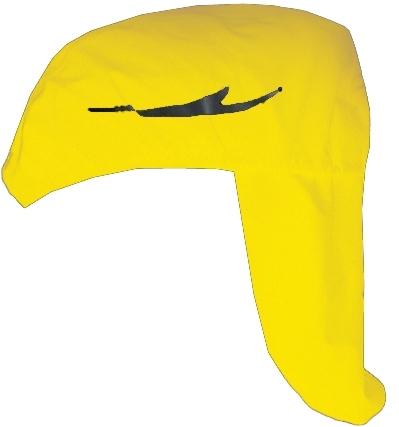 Chiba Helmet Raincover Pro neongelb %