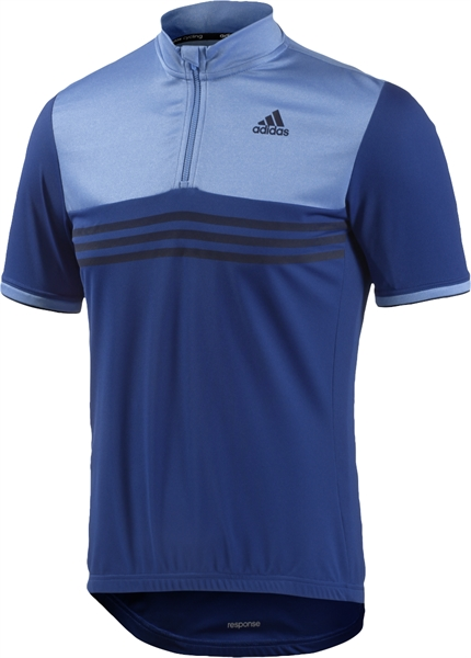 Adidas Response SS Jersey collegiate royal/lucky blue #Varinfo