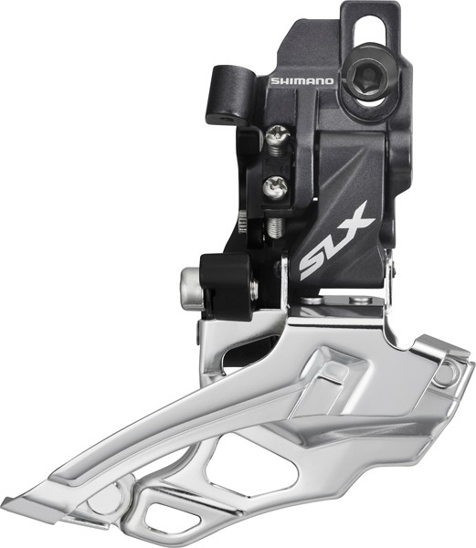 Shimano SLX front derailleur FD-M676-D 2-speed Down Swing Direct Mount - Top-Pull