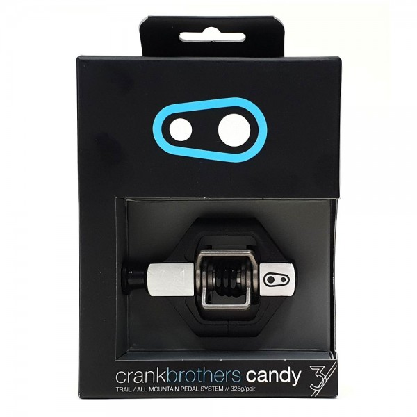 Crank Brothers Candy 3 Pedal - black