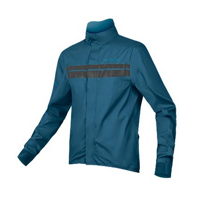 Endura Pro SL Shell Jacket II Regenjacke kingfisher