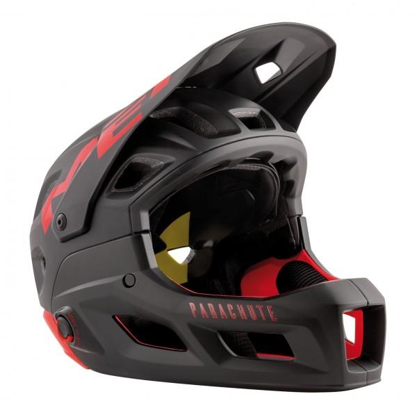 MET Parachute MCR MIPS Helmet Red Black Matt