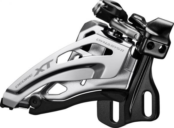 Shimano Deore XT Umwerfer FD-M8020 2x11 Side-Swing, Direktmontage tief
