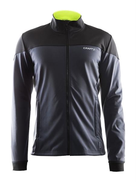 Craft Voyage Softshell Jacket asphalt/black/flumino