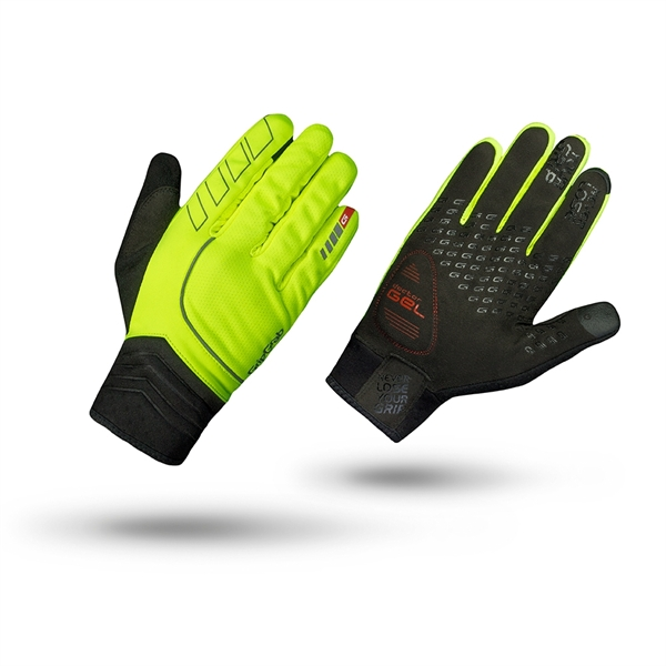 GripGrab Hurricane Handschuh HI-VIS