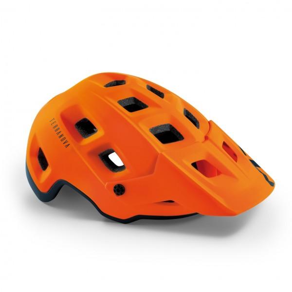 Met Terranova Helm Orange Black Matt